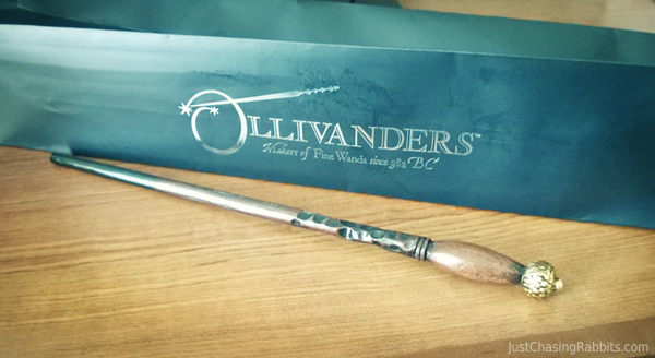 Our wizarding world of harry potter bucket list just for Harry potter ivy wand