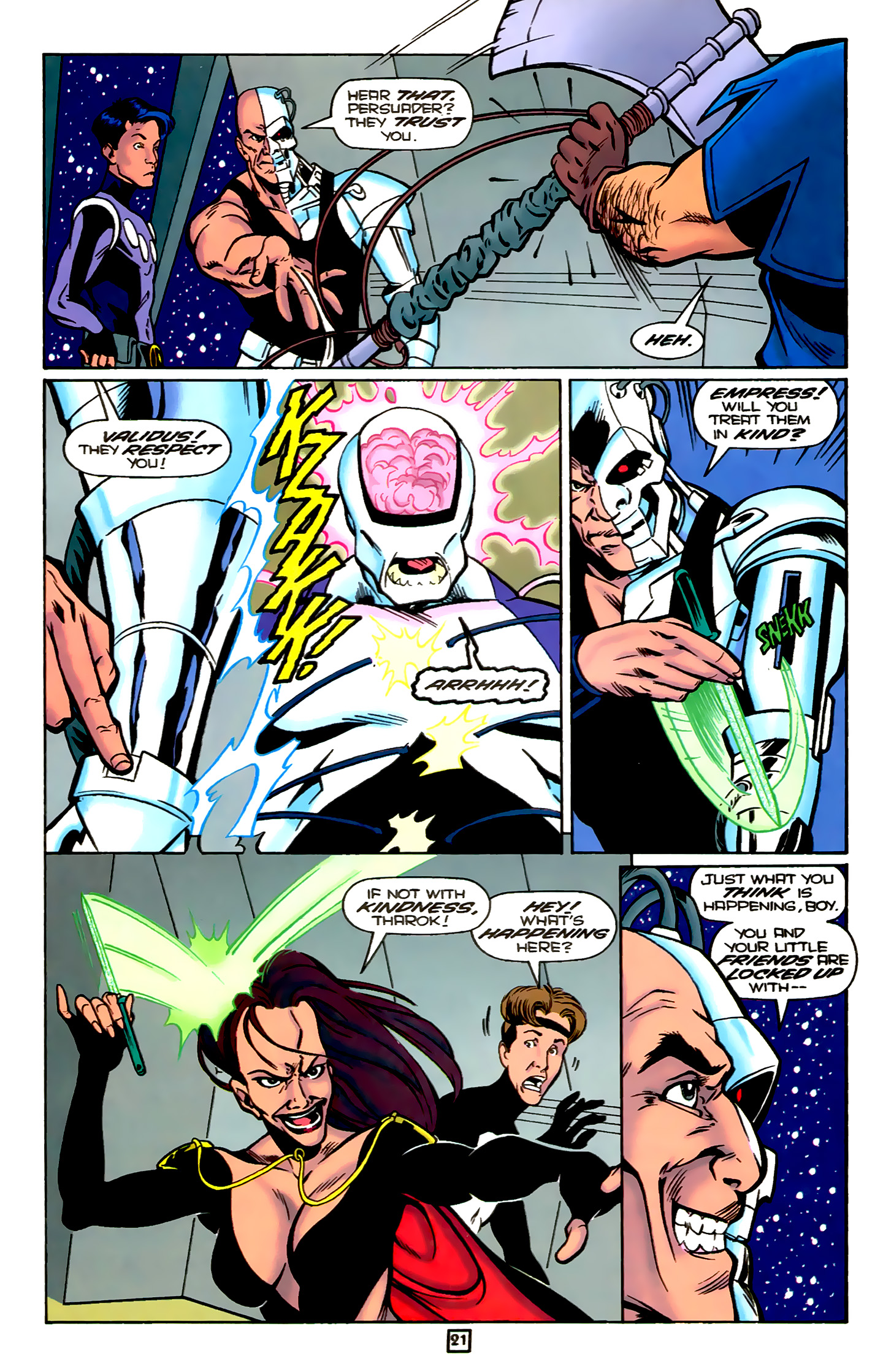Legion of Super-Heroes (1989) 78 Page 21