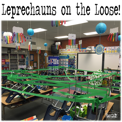 Leprechauns on the Loose. March classroom activity they'll never forget!