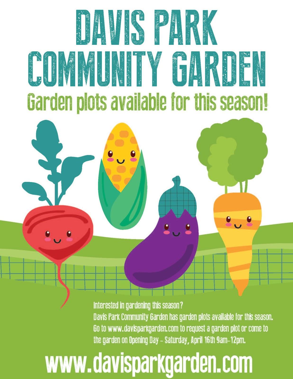 Davis Park Community Garden March 2016