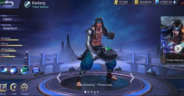 Tanggal Rilis Hero Badang Mobile Legends di Server Ori
