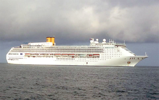 Le navire de croisière italien, Costa Victoria,
