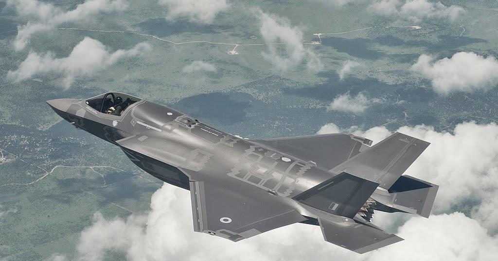 Royal Air Force F 35b Lightning Ii Inflight Aircraft
