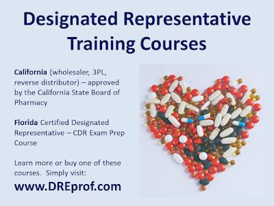 Designated Representative Training Courses - California and Florida