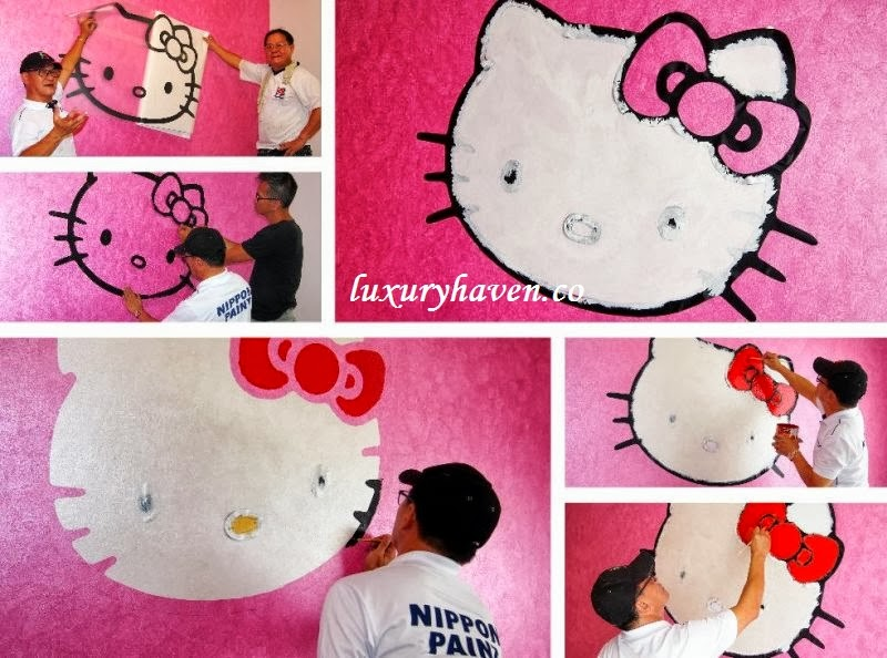 nippon paint momento hello kitty review