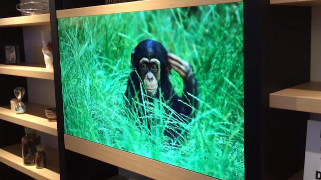 Έρχονται οι διάφανες τηλεοράσεις που θα τις λατρέψετε