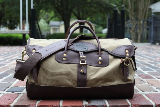 Over Under Clothing  The Wax Sporting Duffle Made in U.SA Bag de2d31cbe8
