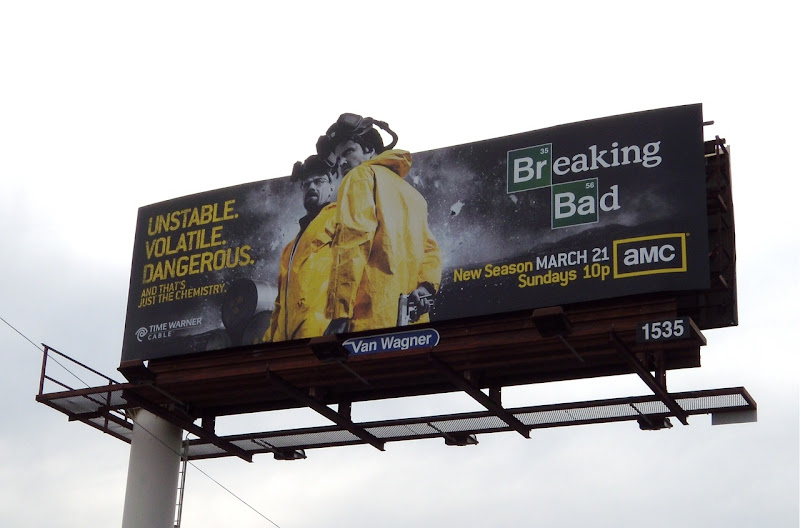 Breaking Bad season 3 billboard