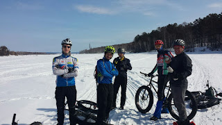 Первый Ершовский залив зимой