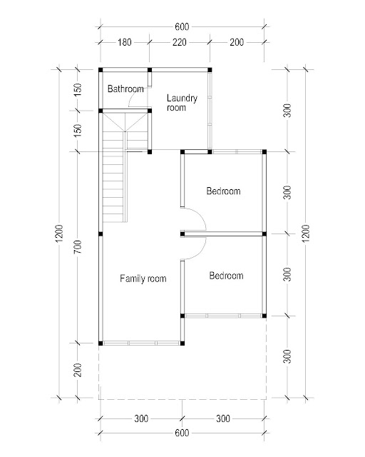 2nd Floor Plan for Plan c-28