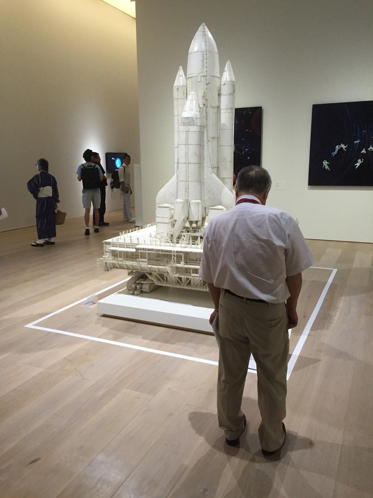 六本木ヒルズは「宇宙」と「ジブリ」と「ドラえもん」| 2016-07-30 の日々雑感