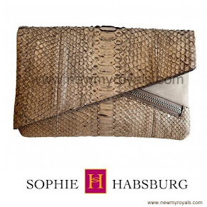 Countess Sophie carried Sophie Habsburg Ginny Clutch