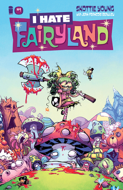I hate Fairyland de Scottie Young