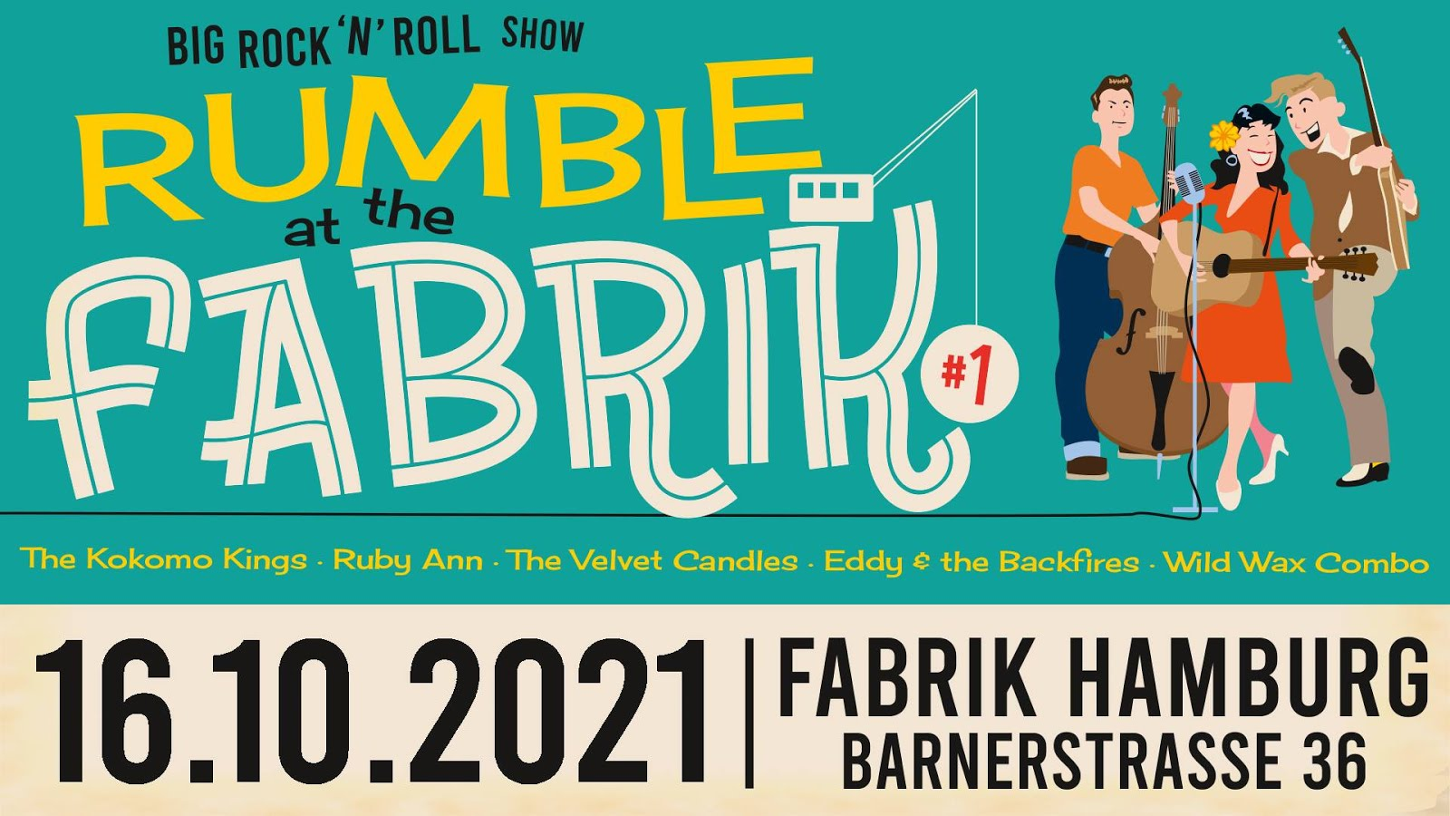 Rumble @ The Fabrik #1