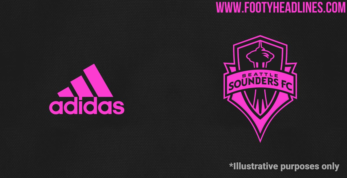 quality design c5a1e e7c91 LEAKED: Seattle Sounders 2019 Away Kit to Be Black & Pink + ...