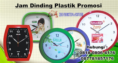 Jam Dinding Plastik , Bingkai Jam Dinding Dari Plastik. produksi jam dinding untuk promosi