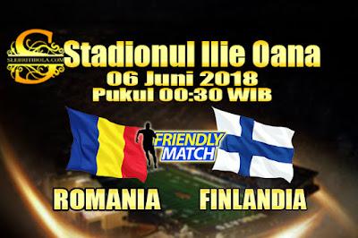 AGEN BOLA ONLINE TERBESAR - PREDIKSI SKOR PERSAHABATAN ROMANIA VS FINLANDIA 06 JUNI 2018