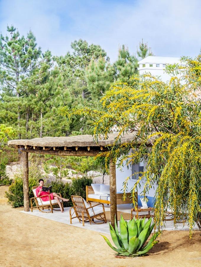 Decoraci n f cil casa de verano en las dunas de portugal - Casa las dunas ...