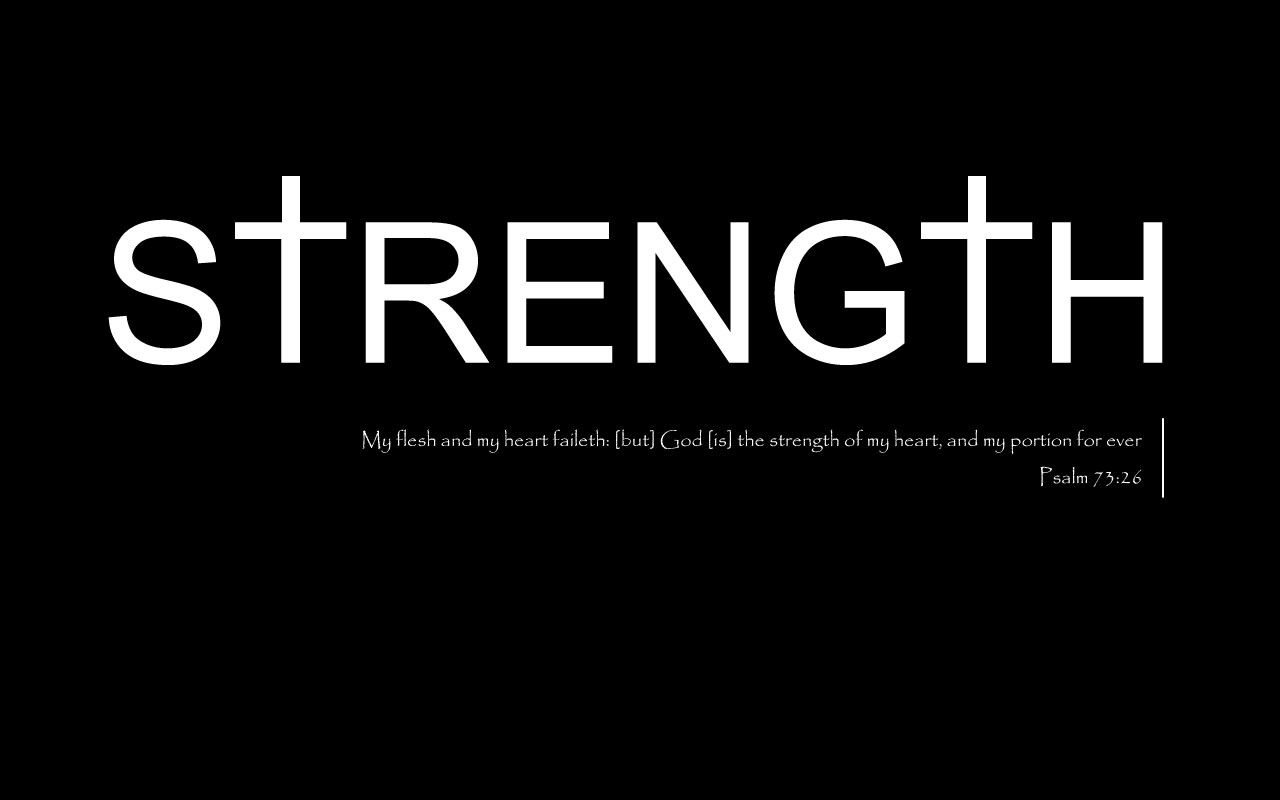 Strength Quotes: What God Said Tonight: February 2012