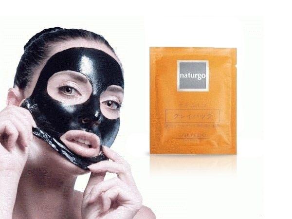 Atasi Komedo Di Hidung Dengan Masker Shiseido Naturgo Mud Mask