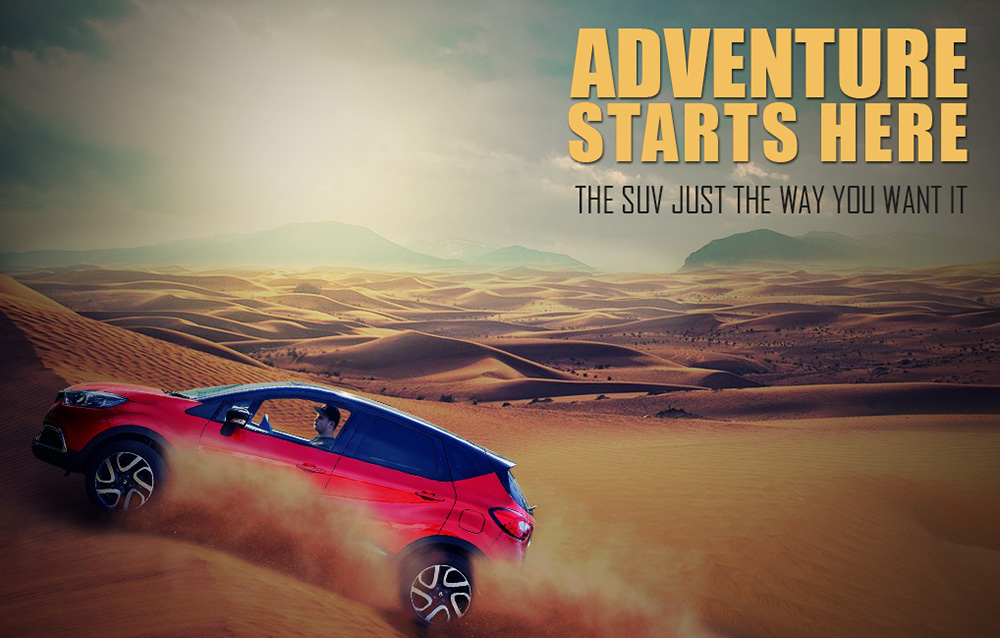 Easy Photoshop Tutorial Design a Suv Advertisement Poster