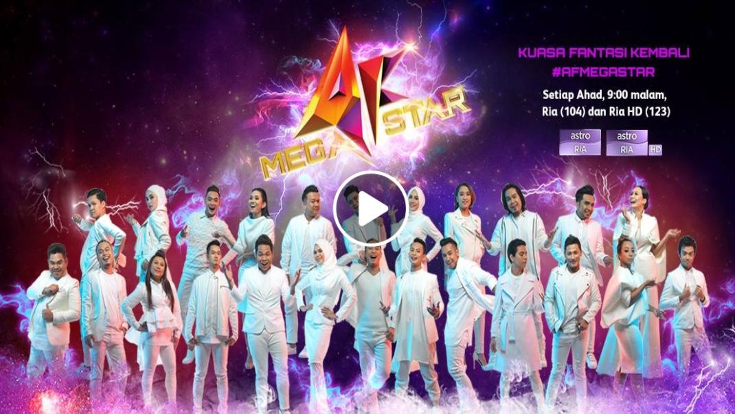 Konsert AF Megastar 2017 Minggu 3