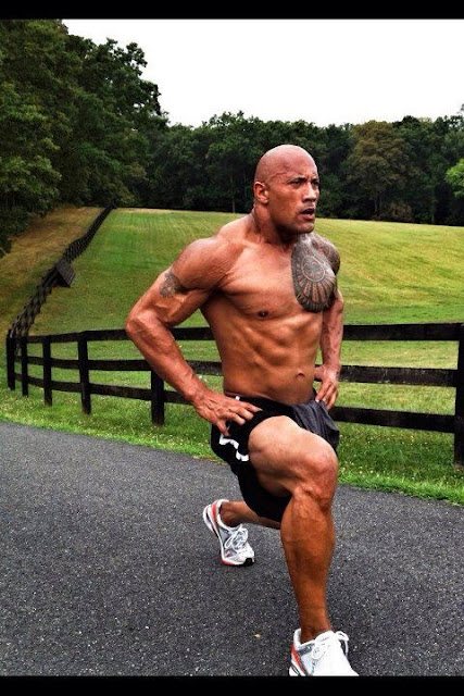 the rock on steroids workout