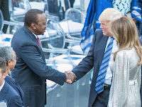 TRUMP laughs at UHURU for claiming Judges were in contact with RAILA's lawyers before annulling his win!