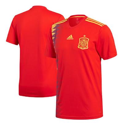 Jersey Spanyol New 2018