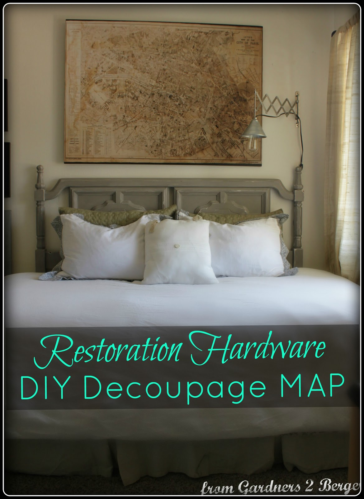 Restoration-Hardware-DIY-Decoupage-Map-Knock-Off
