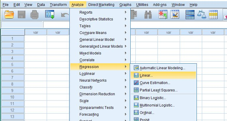 Analisis Regresi dengan SPSS ~ MITRA RISET 9a649a0f4e