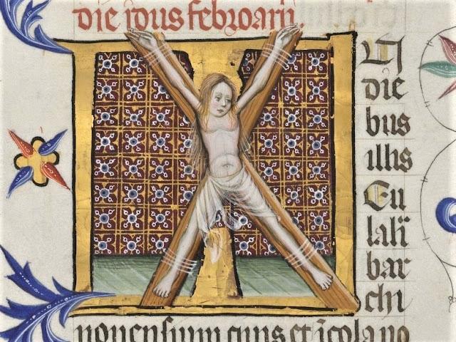 Crucifixió de Santa Eulàlia