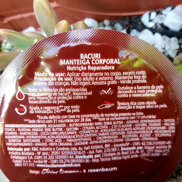 Manteiga de Bacuri da L'occitane: Descrição do produto