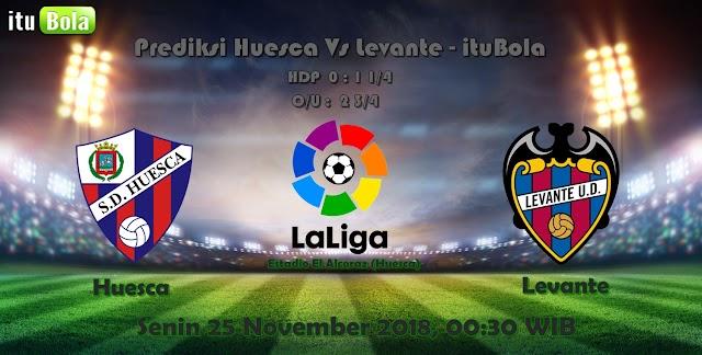 Prediksi Huesca Vs Levante - ituBola