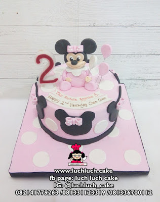 Kue Tart Minnie Mouse