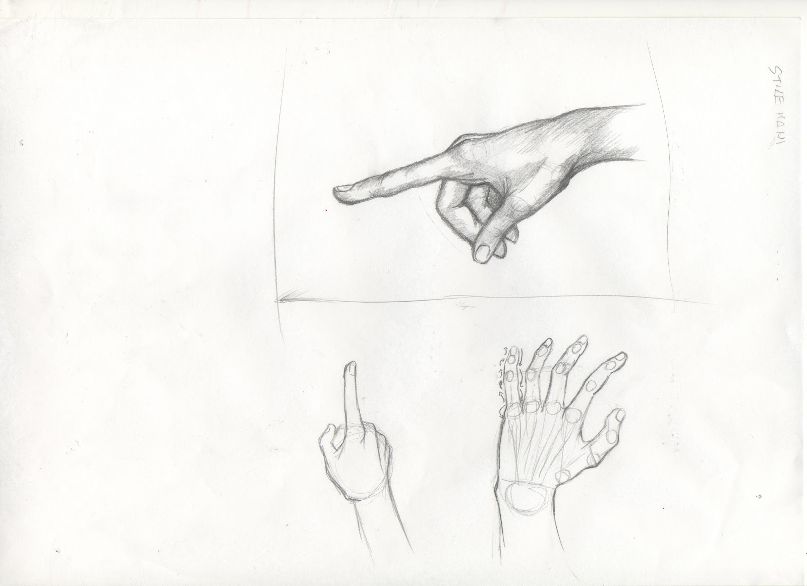 How To Drawhand Come Disegnare Le Mani