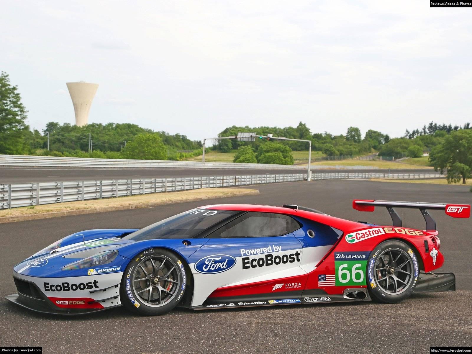 Ford GT Le Mans Racecar 2016 - Siêu phẩm mới đã trở lại