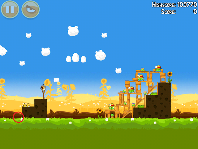 Angry Birds Seasons: Summer Pignic - 1-3