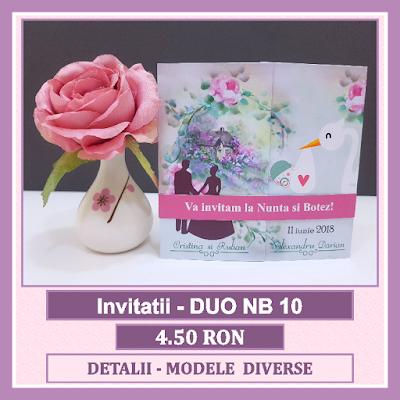 http://www.bebestudio11.com/2018/04/invitatii-nunta-si-botez-duo-nb-10.html