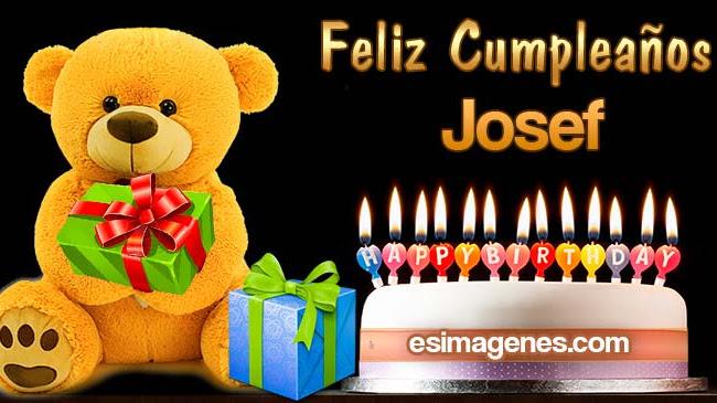 Feliz cumpleaños Josef