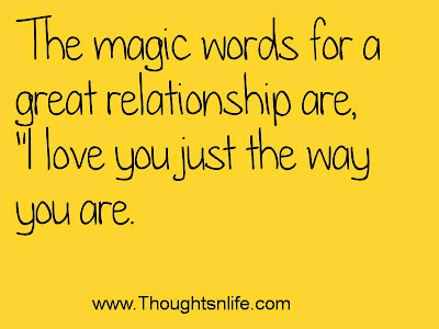 Thoughtsandlife: The magic words for a great relationship