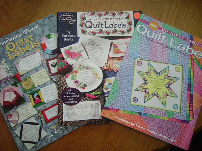 Nostalgic Cafe: Quilt Labeling Ideas