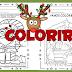 Atividades de natal - colorir