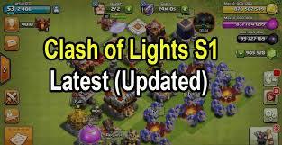 Clash of Lights s1 coc full Server APK Download