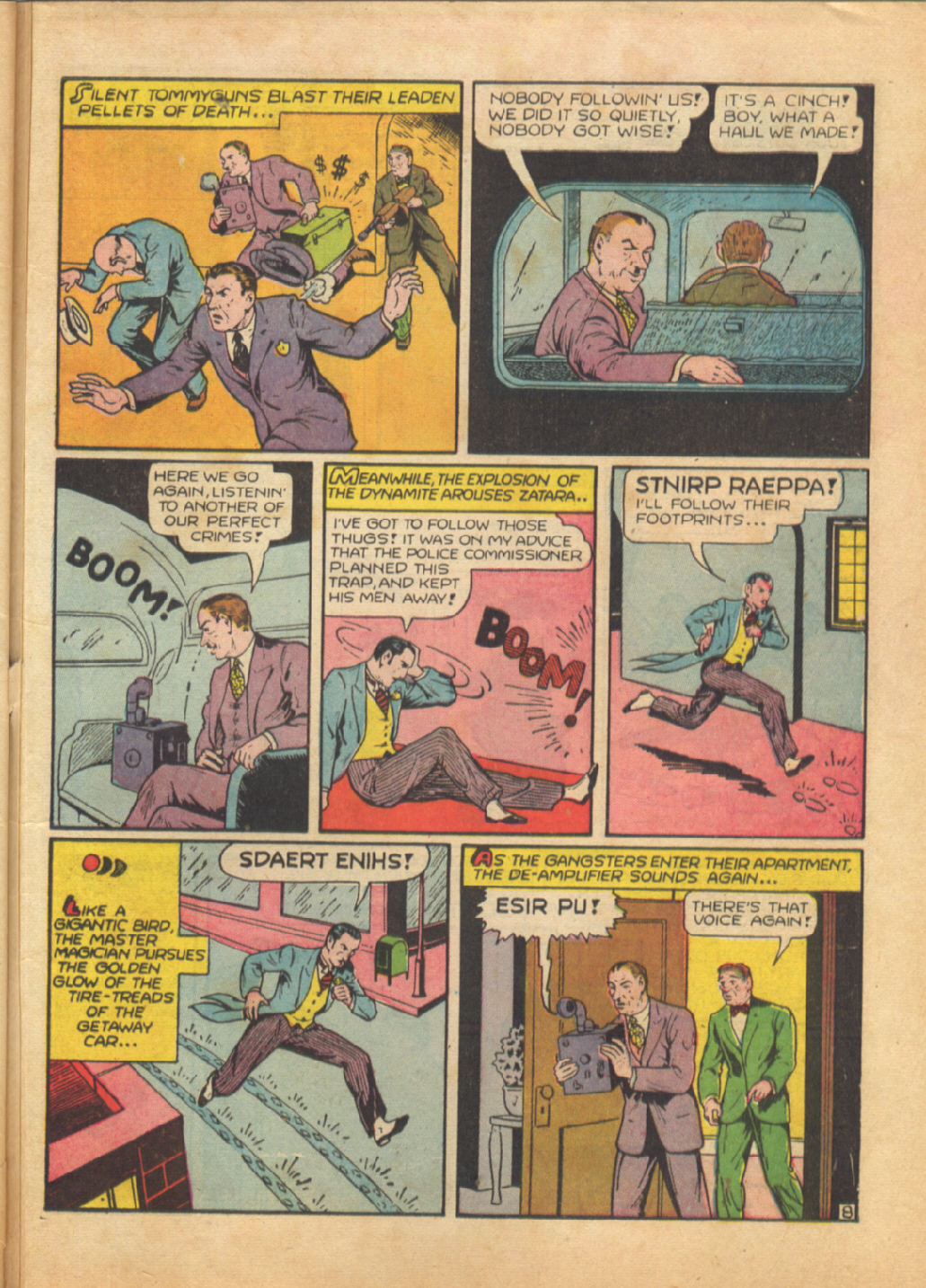 Read online Action Comics (1938) comic -  Issue #64 - 56
