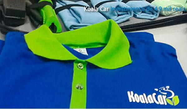 Franquia de Limpeza a Seco Koala Car
