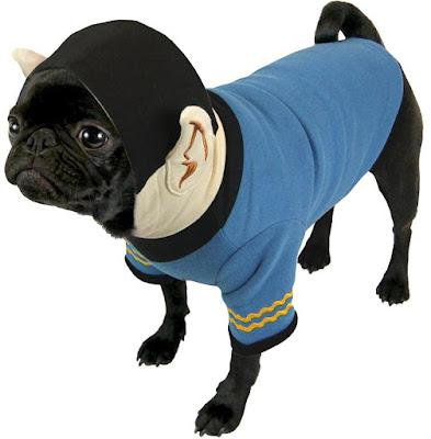 Startrek Spock Dog Hoodie