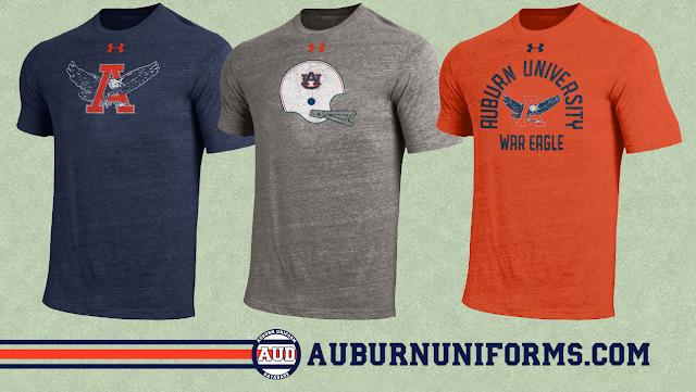 auburn under armour throwback shirt
