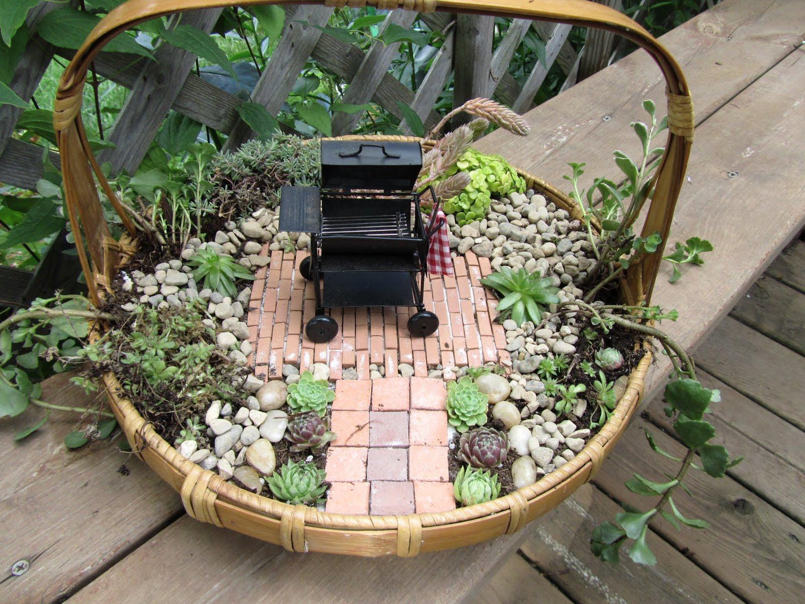 Cheesehead Gardening How To Make The Miniature Gardens