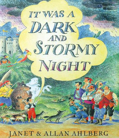 It was a Dark and Stormy Night book cover